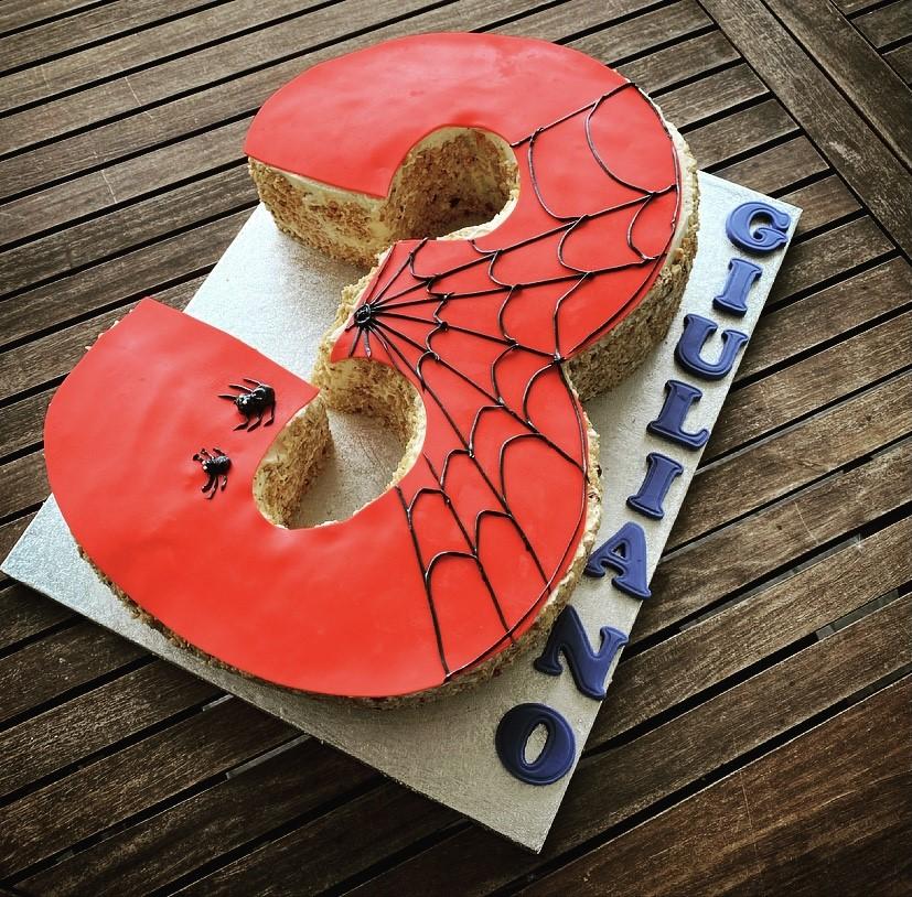 Cake design - tema Spiderman