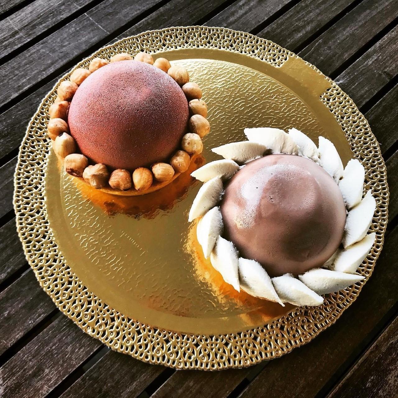 Monoporzioni miste cioccolato e nocciola