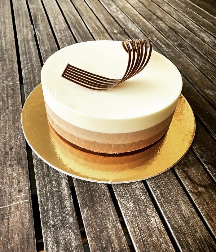 Torte moderne - Tris Cioccolati