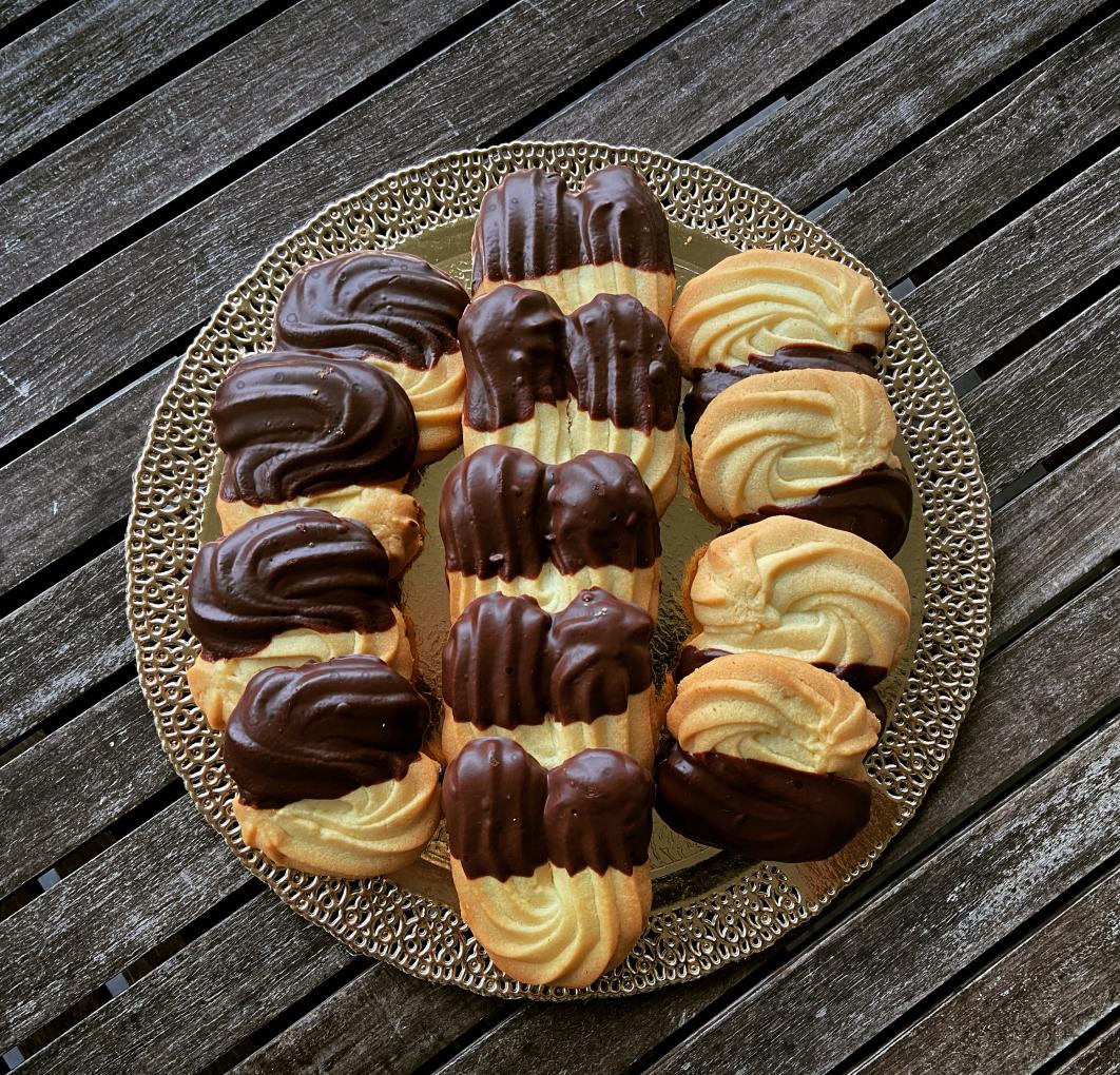 Ricette - Biscotti di frolla montata