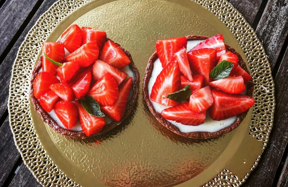 Ricette - Monoporzioni cioccolato bianco e fragole