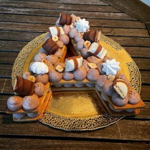 Cream Tart Compleanno Lettera