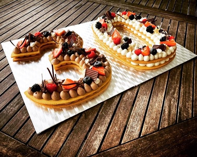 Cream Tart compleanno 30 anni