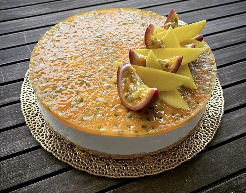 Ricette - CheeseCake Passion Fruit e Mango